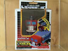 Transformers G1 2001 OPTIMUS PRIME CHORO Q MIB TAKARA china