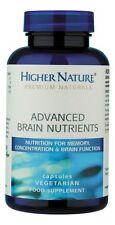 Higher Nature Premium Naturals Advanced Brain Nutrients 90 caps