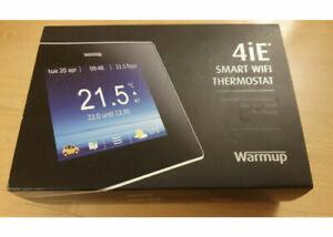 Warm Up Underfloor Heating Thermostats 4ie Black WiFi
