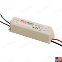 MEAN WELL LPV-20-12 20W Single Output Switching LED Power Supply 12V 1.67A