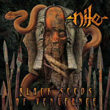Nile – Black Seeds Of Vengeance- LP 1 Press USA Red Marbled -Mint