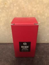 The body shop PERFUME OIL - RED MUSK LARGEST SIZE AVAIL. 30 ML. (1.0 OZ.) NEW!!