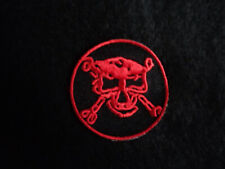 Sew on Patch  / Embroided / Skull and Bones / Punk / Festival / Class War