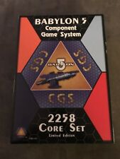 Rare Babylon 5 Limited Edition Component Game Cgs 2258 Core Set