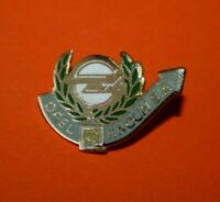 Pin's Pins lapel pin enamel Car Auto OPEL KNOCH S.A Logo Opel Lauriers EGF