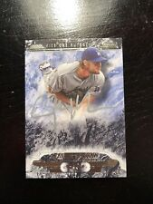 2016 Topps Tier One Clayton Kershaw SILVER INK ON CARD AUTO 10/10! L$$K!
