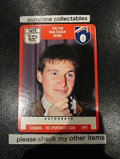1991 STIMOROL AFL CARD NO.105 PAUL COUCH GEELONG