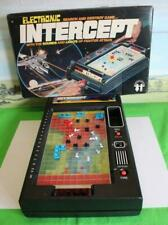 ELECTRONIC INTERCEPT SEARCH AND DESTROY GAME BOXED 1978