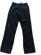 "LULULEMON Mens Sweat Pants Black size M Flap Back Pockets Gym Run Everyday 33"""