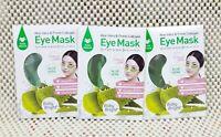 3 Bags 3 Pairs Baby Bright Aloe Vera & Fresh Collagen Eye Mask  Free Shipping