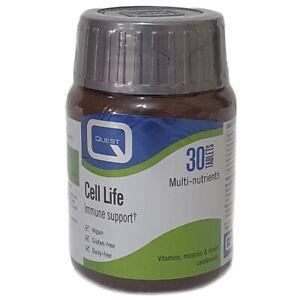 Quest Cell Life Vitamins, Minerals & Mixed Carotenoids - 30 Tablets