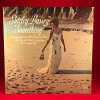 SHIRLEY BASSEY Something 1970 UK vinyl LP EXCELLENT CONDITION
