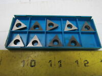 Valenite TPMW 16T304 Carbide Indexable Inserts Lot of 9