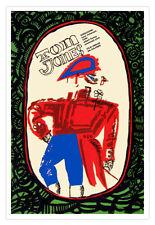 "Movie Poster""Tom JONES""Expressionist art.British History.In front of Mirror."