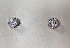 Diamond Buttercup Stud Diamond Earrings .20 ct tw