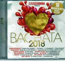 Bachata 2018  18 Versiones Originales  BRAND  NEW SEALED  CD