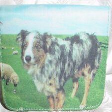 Australian Shepherd Microfiber Mini Wallet
