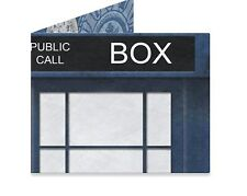 DYNOMIGHTY MIGHTY WALLET POLICE BOX DR. WHO UK BRITAIN DURABLE TYVEK AC-1023