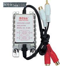 BOSS - FILTRO ANTIDISTURBO segnale audio cavo RCA isolatore di massa  1241-