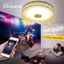 Elinkume Musik LED Deckenlampe,Bluetooth Intelligente Dimmbar Modern Leuchten