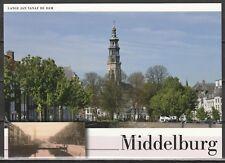 Voorgefrankeerde ansichtkaart Middelburg Lange Jan vanaf de Dam- Postcard