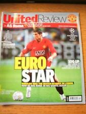 02/10/2007 Manchester United v Roma [European Cup] (Slight Fold). No obvious fau