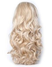 Double Volume Long Curly Full Wig in Blonde Mixed Highlights Shade 24/613