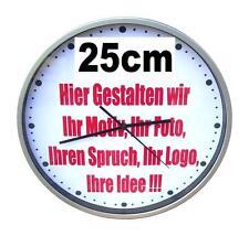 Bahnhofsuhr Uhr Wanduhr mit Ihrem Logo Foto Motiv Idee