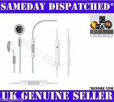 HEADPHONE EARPHONE WITH REMOTE AND MIC FOR IPHONE 3GS 4 4G + 1YR WARRANTY