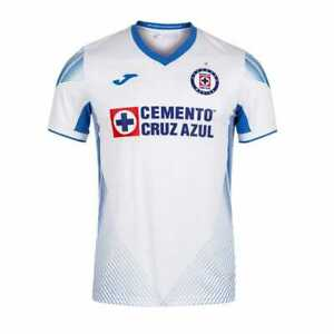Cruz Azul Jersey Joma Away 2021/2022 Mens Jersey 100% Authentic Visita CAMPEONES