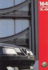 ALFA ROMEO 164 TWIN SPARK 2.0 Limousine Prospekt Brochure 1994 39