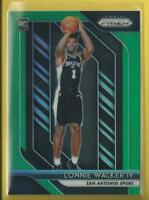 Lonnie Walker RC 2018-19 Panini PRIZMS GREEN Rookie Card San Antonio Spurs NBA