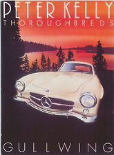 Mercedes Benz Gullwing MODERN postcard issued by Athena