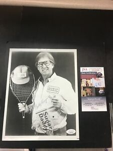 Bobby Riggs TENNIS Signed 8x10 Photo Tennis Sugar Daddy JSA CERTIFIED AUTOGRAPH!