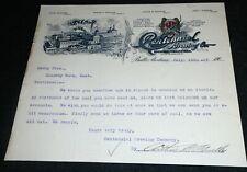 1900 Centennial Brewing Company, Butte Montana Vintage Letterhead