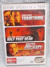 TODAY YOU DIE/HALF PAST DEAD/BELLY OF B/STEVEN SEAGAL(3 DVD BOXSET) DVD MA R4