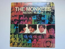 MONKEES Instant Replay  lp AUTOGRAPHED Rhino