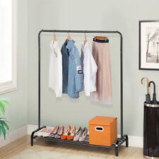 Modern Metal Clothing Garment Rack Storage Shelf For Boxes Shoes Heavy Duty Us