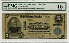 1926 Bank of Yorkville Ny (12965) Pmg 15 5 Dollar Only 17 Other Notes Known