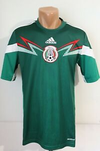 MEXICO 2013/2014/2015 HOME FOOTBALL SHIRT SOCCER JERSEY CAMISETA ADIDAS MEN'S S