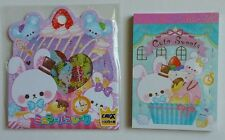 Crux Kawaii Cute Sweets Japan Mini Memo Pad Sticker sack flakes lot