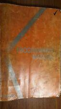 Mazak CAM M-2 Programming Manual