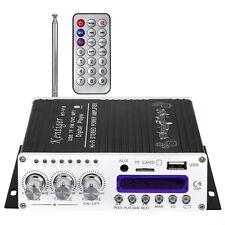 V10 Bluetooth Hi-Fi ClassAB Stereo Super Bass Audio Mini Digital Amplifier BLACK