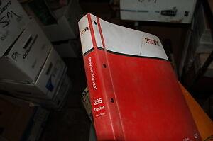 CASE IH 235 Tractor Repair Shop Service Manual book overhaul owner farm 1987 OEM