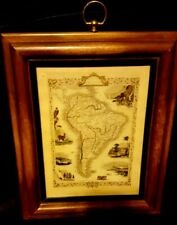 antique South American map