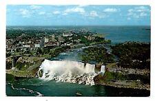 Niagara Falls Canada Postcard American Skylon Tower Boat Vintage Unposted