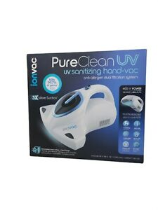 NEW Ionvac Pure Clean Uv Sanitizing Handheld Vaccum Sterilize Remove Allergens
