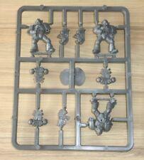 Warhammer 40k Space Marine Tactical Marines x 3 Push Fit on Sprue