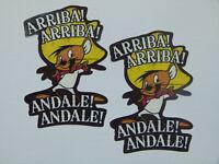 Auto Speedy Gonzales Kult oldschool Aufkleber Sticker Comic USA Motorrad Retro