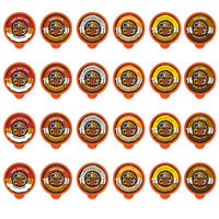 Crazy Cups Flavored Coffee Single Serve Cups for Keurig K Cups Brewer,24-count